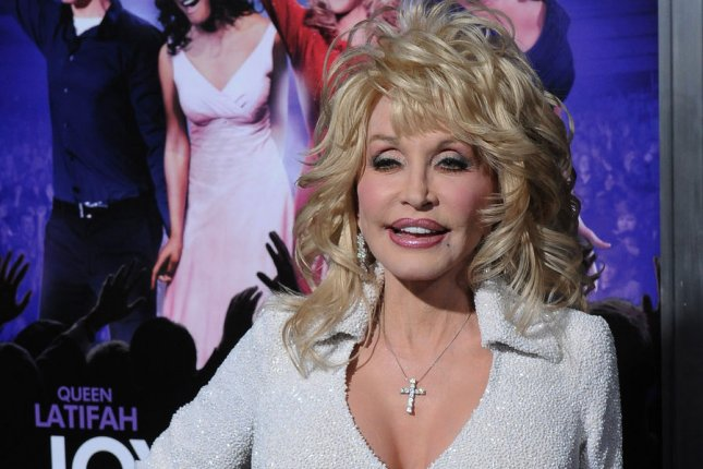 Dolly Parton, a cast member in the motion picture musical comedy Joyful Noise, in Los Angeles on January 9, 2012. Photo by Jim Ruymen/UPI