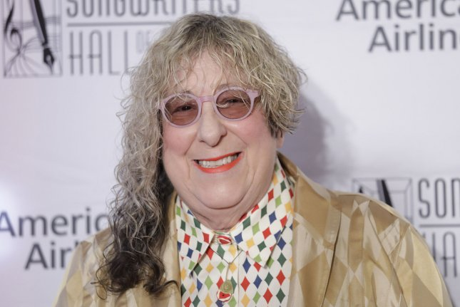 Allee Willis, seen here at the Songwriters Hall of Fame 49th Annual Induction and Awards Dinner in 2018, has died at age 72. File photo by John Angelillo/UPI