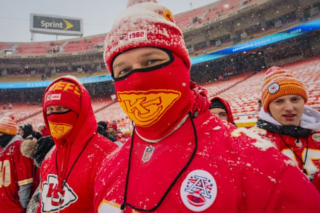 Arrowhead Stadium has a capacity of about 73,000, but the Kansas City Chiefs plan to allow about 16,000 fans for their home opener on Sept. 10 at the facility in Kansas City, Mo. File Photo by Kyle Rivas/UPI