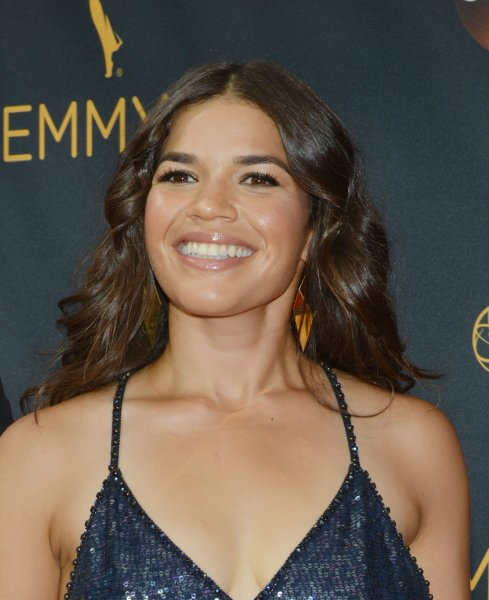 Actress America Ferrera arrives for the 68th annual Primetime Emmy Awards in Los Angeles on September 18, 2016. Her workplace comedy is to return for a third season on NBC. File Photo by Christine Chew/UPI