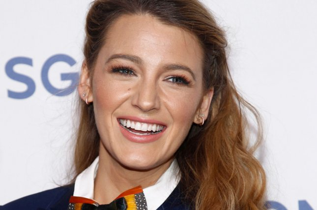 Blake Lively attends the Lionsgate presentation at CinemaCon on April 26. File Photo by James Atoa/UPI