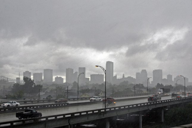 New Orleans is one of several U.S. cities preparing for the arrival of Tropical Storm or Hurricane Barry along the Gulf Coast. File Photo by A.J. Sisco/UPI