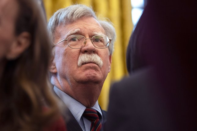 Former White House national security adviser John Bolton is coming under criticism from South Korea's ruling party politicians for the publication of his memoir. File Photo by Kevin Dietsch/UPI