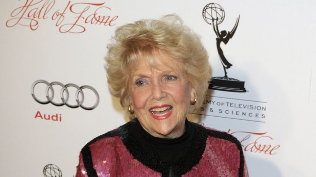 Actress Doris Singleton, who played Lucy and Ricky Ricardo's neighbor on I Love Lucy, has died. UPI/Jonathan Alcorn