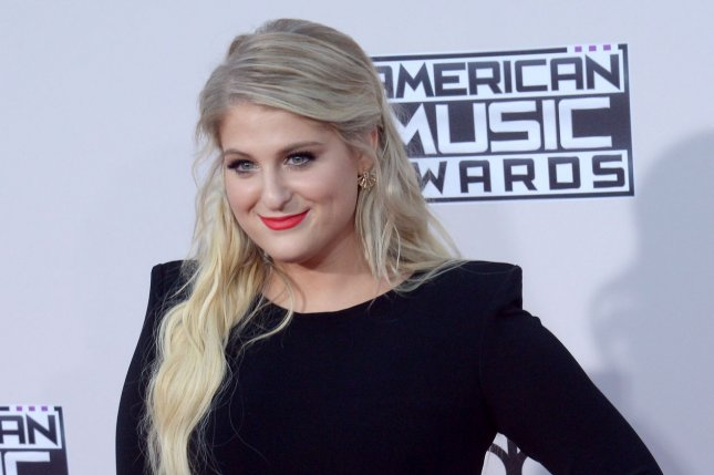 Meghan Trainor at the American Music Awards on Sunday. Photo by Jim Ruymen/UPI