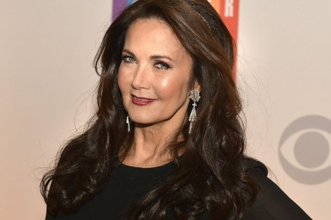 Actress Lynda Carter, who played TV's Wonder Woman arrives for an evening of gala entertainment at the Kennedy Center on December 7, 2014. According to her publicist, Carter will not be making an appearance in the new upcoming Wonder Woman film. File Photo by Mike Theiler/UPI