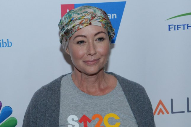 Shannen Doherty attends the Stand Up to Cancer fundraiser on September 9, 2016. File Photo by Jim Ruymen/UPI