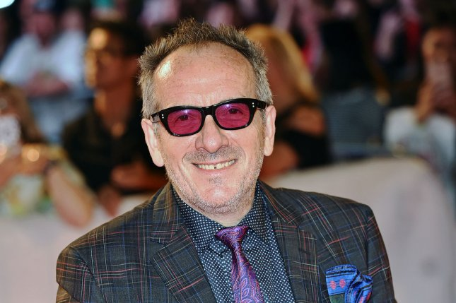 Elvis Costello announced Friday he is canceling his remaining European concerts since he is battling cancer. File Photo by Christine Chew/UPI