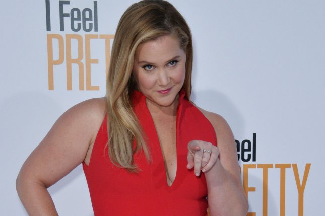 Comedian Amy Schumer has canceled the rest of her comedy tour. File Photo by Jim Ruymen/UPI
