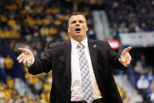 Creighton men's basketball coach Greg McDermott used the racially insensitive analogy after Saturday's loss to Xavier. File Photo by Bill Greenblatt/UPI