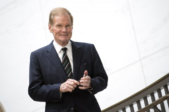 Former Sen. Bill Nelson, D-Fla., walks through the halls of the U.S. Capitol in Washington, D.C. on March 28, 2017. He served three terms as a senator before being voted out of office in 2018. File Photo by Kevin Dietsch/UPI