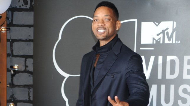 Will Smith arrives on the red carpet at the 2013 MTV Video Music Awards at Barclays Center in New York City on August 25, 2013. This is the first time the awards show has been held in Brooklyn and Barclays Center which opened last September. UPI/Dennis Van Tine