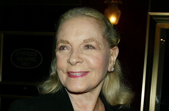 Lauren Bacall in 2004. File photo by Laura Cavanaugh/UPI