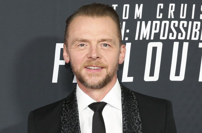 Truth Seekers writer and star Simon Pegg attends the Mission: Impossible - Fallout premiere on July 2018. Truth Seekers will premiere at the 2020 CanneSeries festival. File Photo by Oliver Contreras/UPI