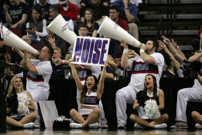 The Gonzaga Bulldogs got past what appeared to be their biggest remaining obstacle in pursuit of perfection by beating No. 20 Saint Mary's 74-64 in a pivotal West Coast Conference game at jam-packed 3,500-seat McKeon Pavilion. File Photo by Jim Bryant/UPI