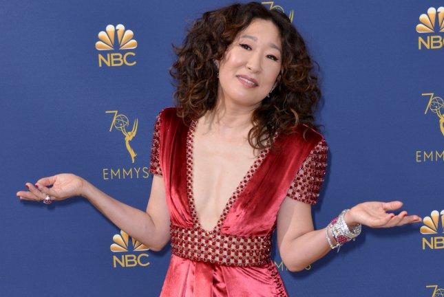 Sandra Oh's celebrated series Killing Eve is to begin its second season on April 7. File Photo by Christine Chew/UPI