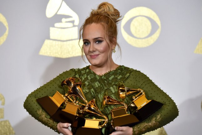 Adele shared an optimistic message following her split from husband Simon Konecki. File Photo by Christine Chew/UPI