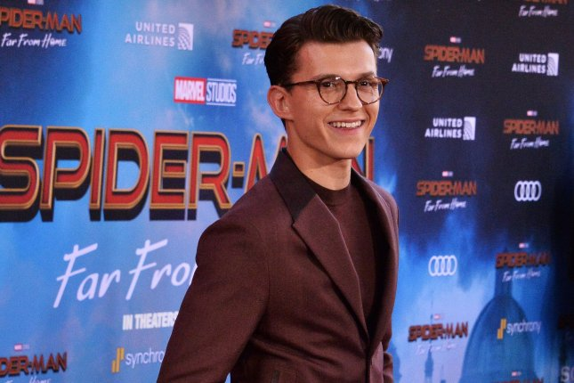 Cast member Tom Holland attends the premiere of Spider-Man: Far From Home in Los Angeles on June 26. File Photo by Jim Ruymen/UPI