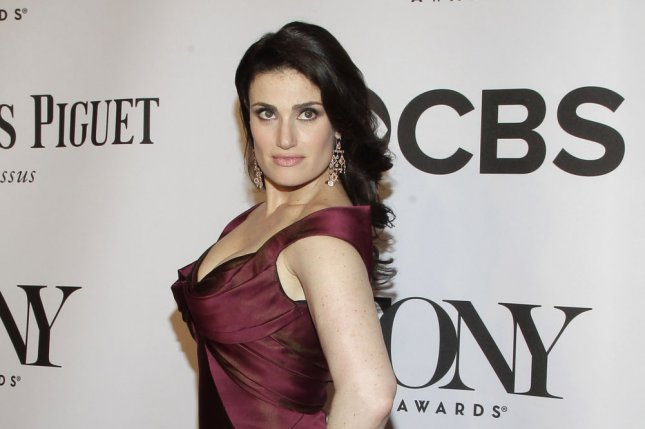 Idina Menzel has announced plans for a global concert tour. She is pictured here at the 68th Tony Awards at Radio City Music Hall in New York City on June 8, 2014. UPI/John Angelillo.