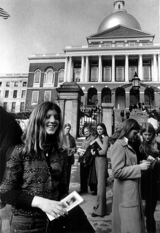 Massachusetts State House in 1974. UPI File Photo