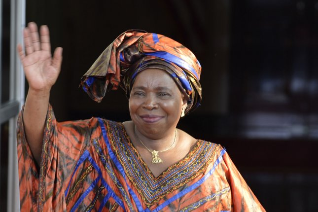African Union Commission Chairperson Dr. Nkosazana Clarice Dlamini Zuma, pictured in August 2014, announced on Jan. 30, 2015 the AU has endorsed the creation of a regional force to fight Boko Haram. UPI/Mike Theiler