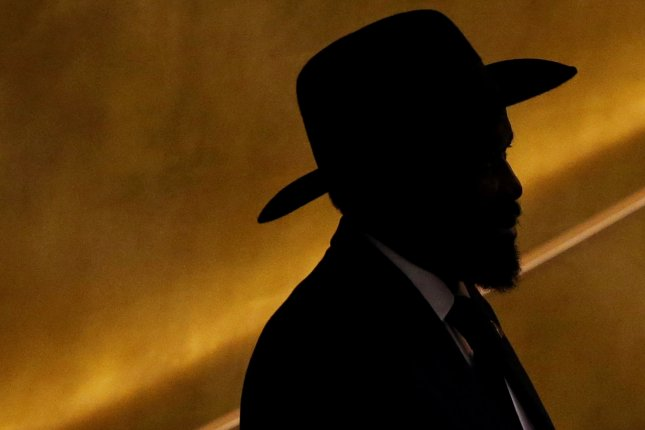 Durability of Salva Kiir, president of South Sudan, may be closely linked to oil production in the war-torn country. File Photo by John Angelillo/UPI