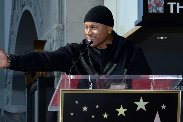 LL Cool J gets a star on the Hollywood Walk of Fame on January 21, 2016. File Photo by Jim Ruymen/UPI
