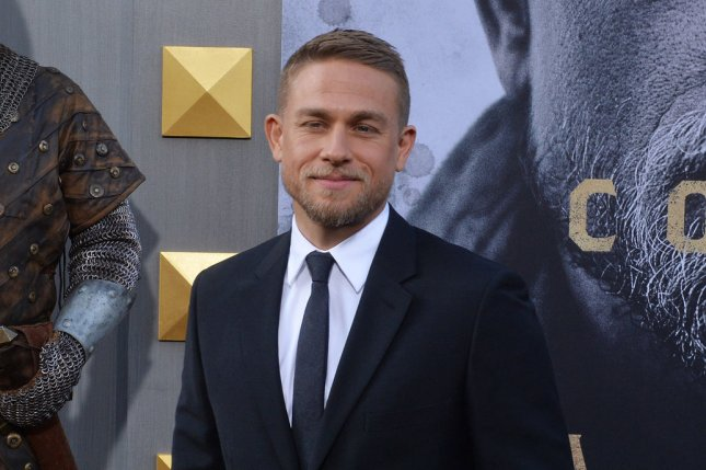 Cast member Charlie Hunnam attends the premiere of King Arthur: Legend of the Sword on May 8. Hunnam discussed the possibility of portraying James Bond recently on Conan. File Photo by Jim Ruymen/UPI