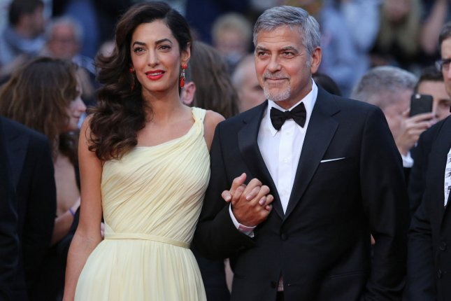 George Clooney, wife A...