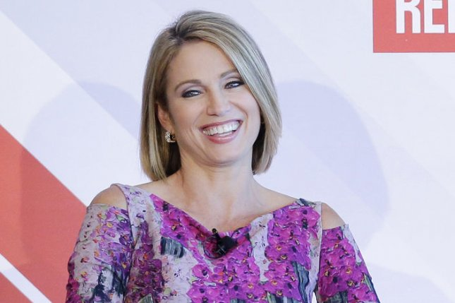 Amy Robach will join David Muir on 20/20. File Photo by John Angelillo/UPI