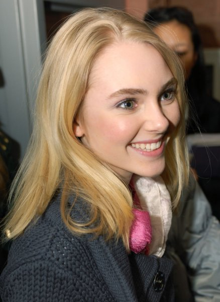 Actress AnnaSophia Robb attends the premiere of her film Sleepwalking at the Eccles Theater during the Sundance Film Festival in Park City, Utah on January 22, 2008. (UPI Photo/Alexis C. Glenn)