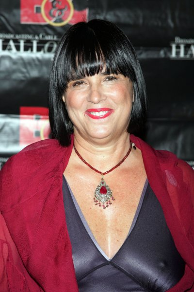 Author Eve Ensler arrives at the 18th Annual Broadcasting & Cable Hall of Fame Awards Dinner at the Waldorf Astoria Hotel in New York on October 21, 2008. (UPI Photo/Laura Cavanaugh)