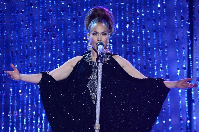 Singer Jennifer Lopez performs tribute to legendary singer Celia Cruz at the 41st annual American Music Awards held at Nokia Theatre L.A. Live in Los Angeles on November 24, 2013. UPI/Jim Ruymen