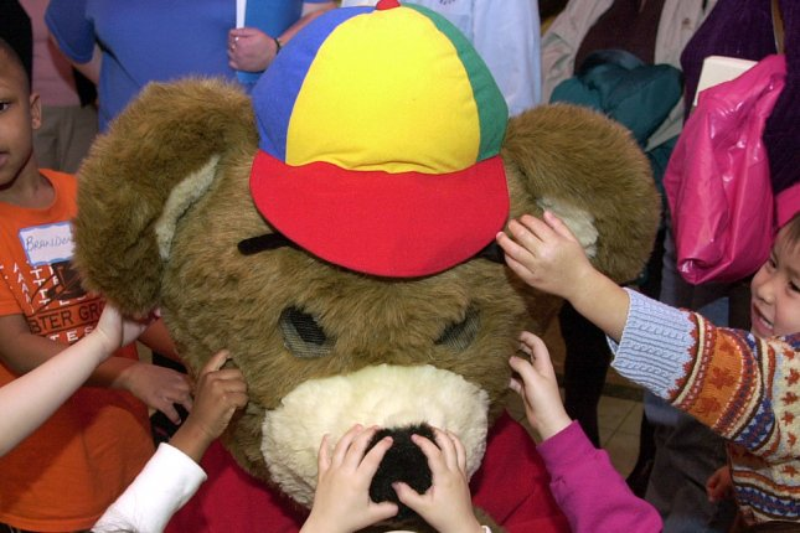 This teddy bear is in much better shape (File/Bill Greenblatt/UPI)