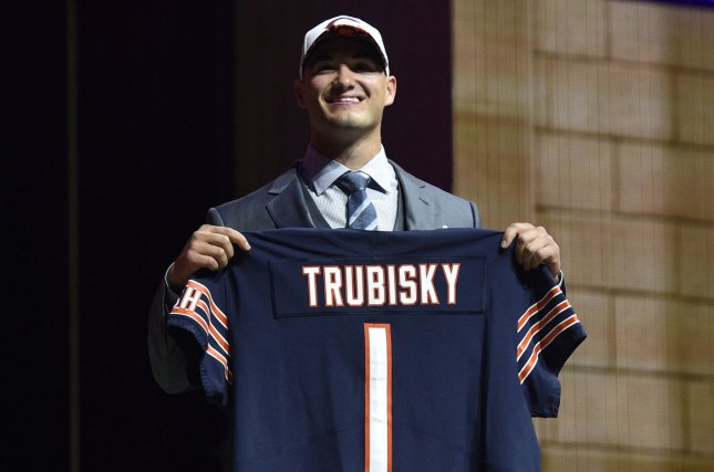 Bears Sign Mitchell Trubisky To Rookie Contract