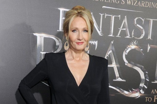 J. K. Rowling said she is comfortable with having Johnny Depp star in Fantastic Beasts: The Crimes of Grindelwald. File Photo by Dennis Van Tine/UPI