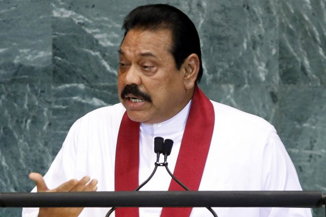 Sri Lanka's ousted PM likens president to Hitler