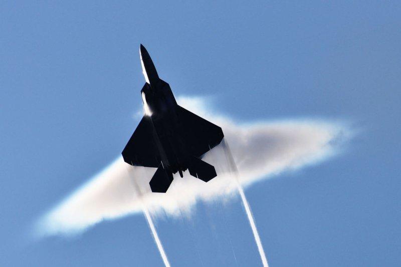 Lockheed Martin was awarded a $7 billion, long-term sustainment contract for the F-22. Photo by Ronald Dejarnett/U.S. Navy/UPI