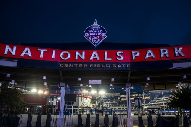 The New York Mets and Washington Nationals were scheduled to play Thursday at Nationals Park in Washington, D.C., but the game has been moved to a later date due to COVID-19 issues within the Nationals organization. File Photo by Kevin Dietsch/UPI