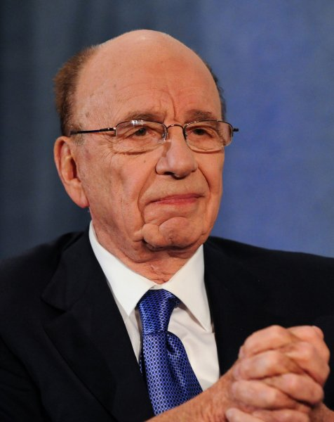 News Corp Chief Executive Officer Rupert Murdoch discusses the future of journalism and news media at the National Press Club in Washington, April 6, 2010. UPI/Alexis C. Glenn