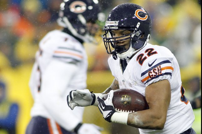 Chicago Bears running back Matt Forte. Photo by Frank Polich/UPI