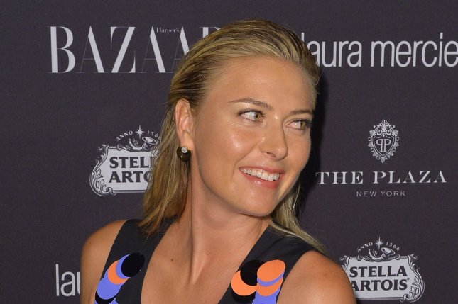 Maria Sharapova arrives on the red carpet at Harper's BAZAAR celebrates 'ICONS by Carine Roitfeld' at The Plaza Hotel presented by Infor, Laura Mercier and Stella Artois on September 9, 2016 in New York City. Photo by Andrea Hanks/UPI