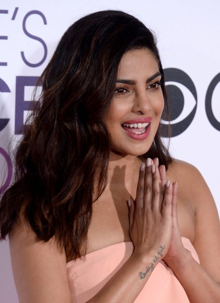 Actress Priyanka Chopra attends the 43rd annual People's Choice Awards at the Microsoft Theater in Los Angeles on January 18, 2017. Photo by Jim Ruymen/UPI