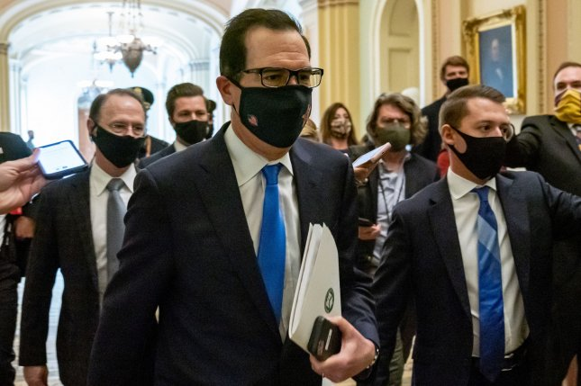 The House postponed a vote on a $2.2 trillion coronavirus stimulus package after a meeting between Speaker Nancy Pelosi and Treasury Secretary Mnuchin failed to produce a deal. Photo by Ken Cedeno/UPI