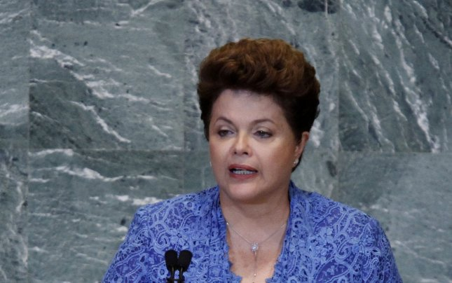 The President of Brazil Dilma Vana Rousseff met with the Castro brothers and invoked her own revolutionary credentials as a former left-wing guerrilla fighter and chided the United States for continuing to operate its Guantanamo Bay prison. UPI/John Angelillo