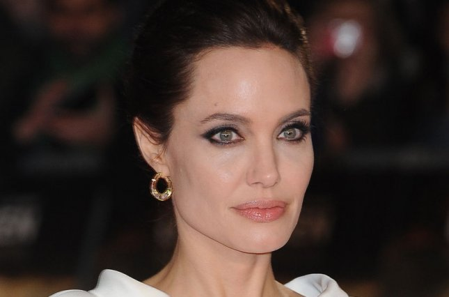 American director Angelina Jolie attends the U.K. premiere of her film Unbroken at Odeon Leicester Square in London on Nov. 25, 2014. UPI/Paul Treadway