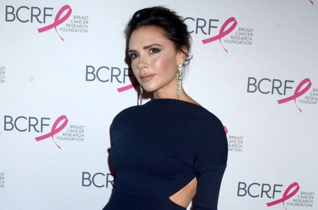 Victoria Beckham said she was invited to Prince Harry and Meghan Markle's nuptials in May. File Photo by Dennis Van Tine/UPI
