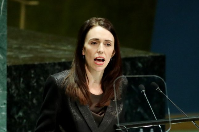 New Zealand Prime Minister Jacinda Ardern on Monday delayed the General Election scheduled for September a month due to the coronavirus pandemic. Photo by Monika Graff/UPI