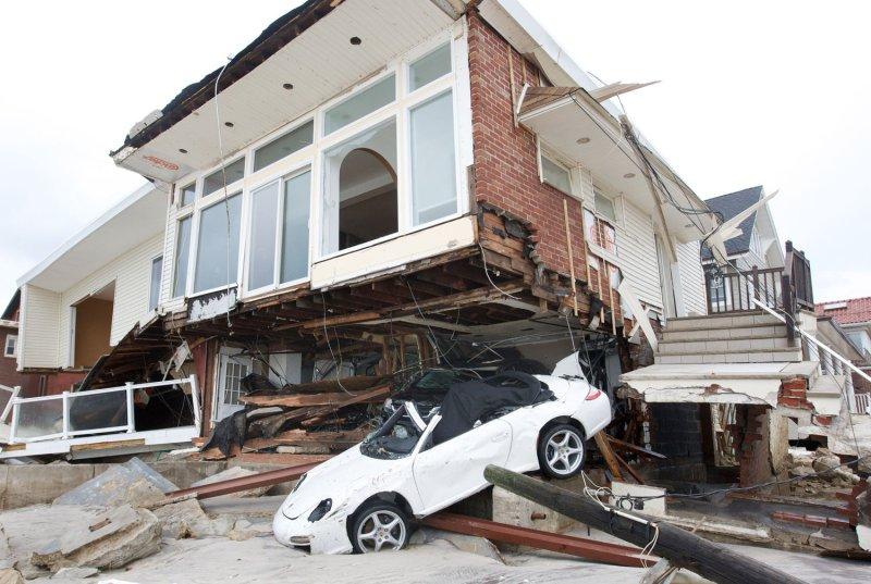 Experts: Future NYC storms could surpass Hurricane Sandy flood levels. UPI /Monika Graff