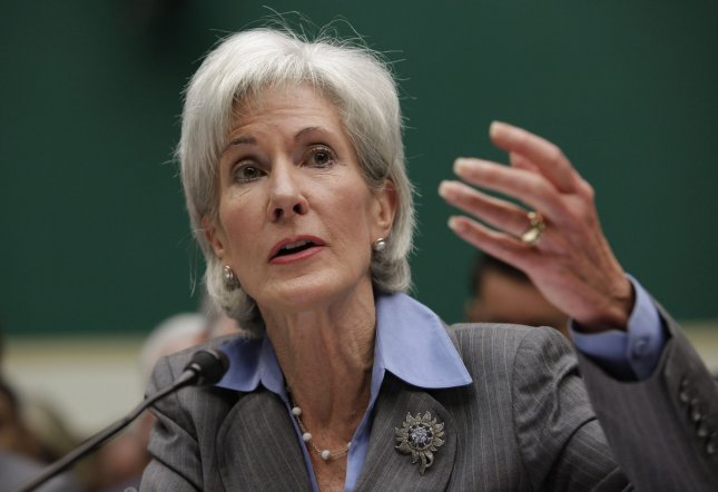 2.1 million have private health insurance, 3.9 million government insurance. U.S. Health and Human Services Secretary Kathleen Sebelius. UPI/Yuri Gripas.